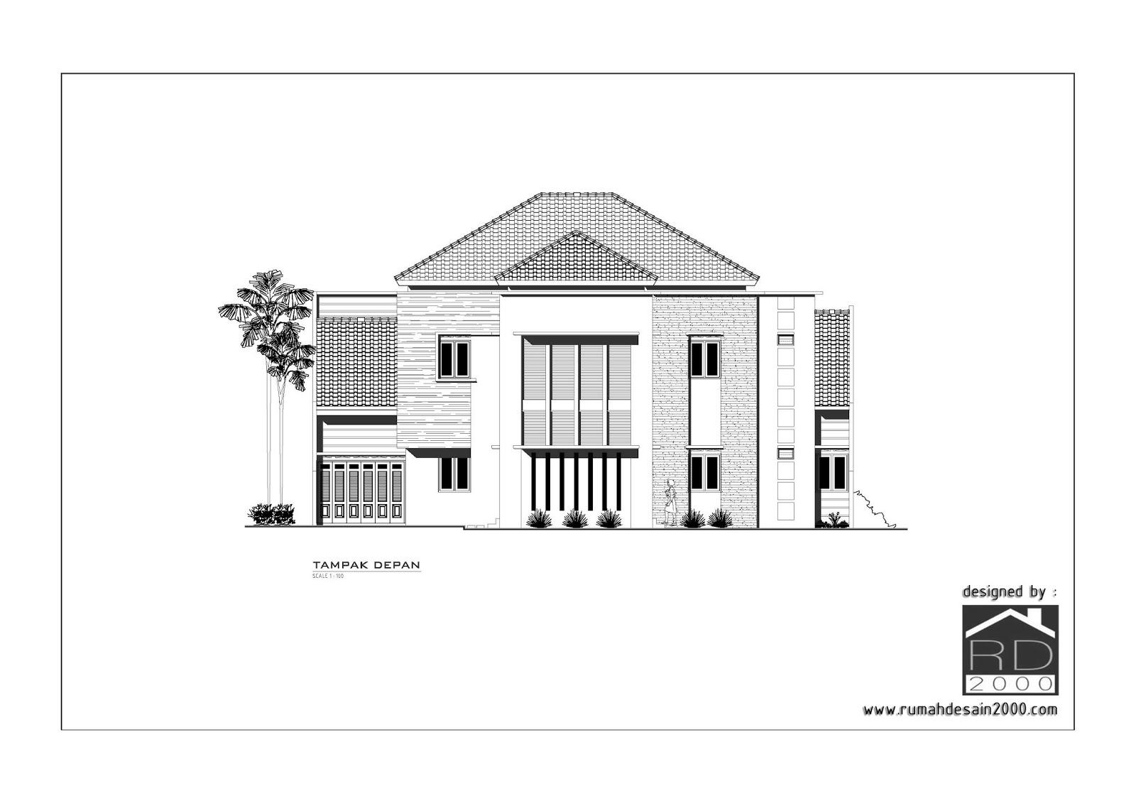 Rumah Desain 2000: Gambar desain rumah mewah model minimalis di ...