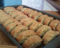Image of Biscotti right out of the oven