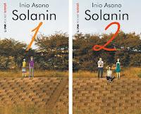 Capa das duas edições do mangá Solanin, da L&PM