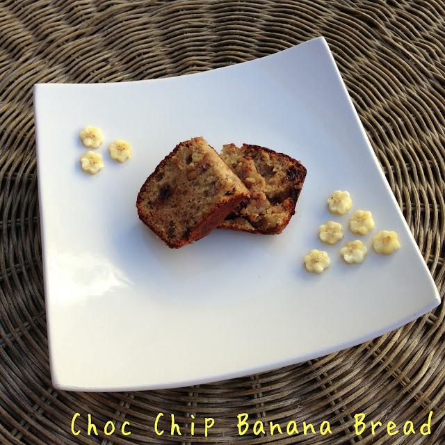 paleo banana bread >> STARTS WITH CUPCAKES