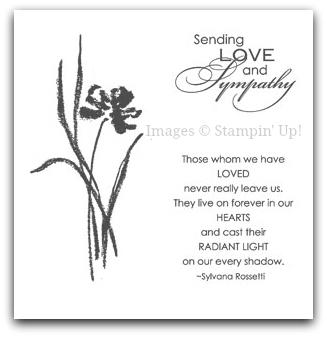 Stampin' Up! Love & Sympathy Stamp Set Artwork
