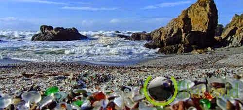 Pantai kaca, California, Amerika Serikat