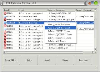 PDF Password Remover v5.0 Retail + Serial Key