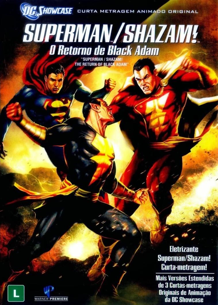 Superman e Shazam – O Retorno do Adão Negro – Full HD 1080p