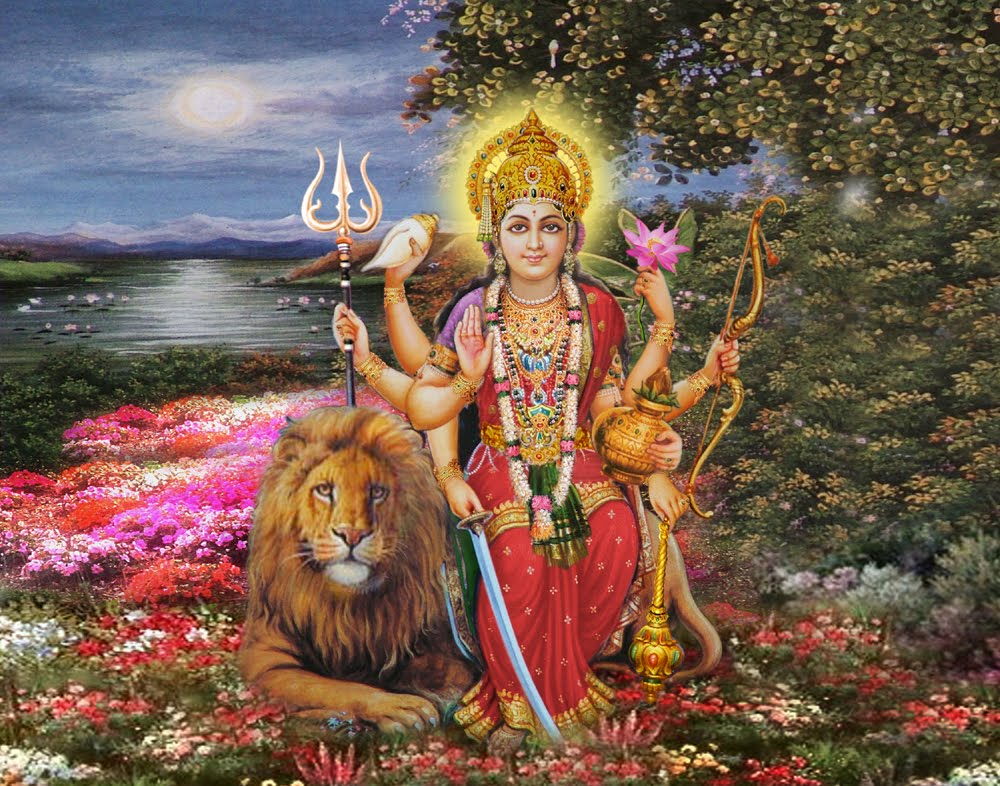 GOD DURGA HD IMAGES MUST WATCH - YouTube