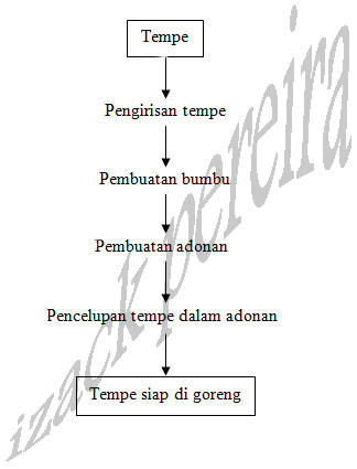 Keripik tempe pembuatan keripik tempe aneka rasa diagram alir pembuatan keripik tempe ccuart Choice Image