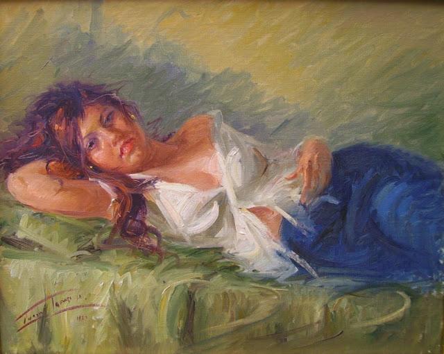 Tafuri Lucio 1941   Italian painter