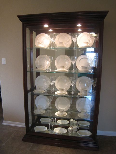 Spirals & Spatulas: China and Crystal and Cabinets, Oh My!