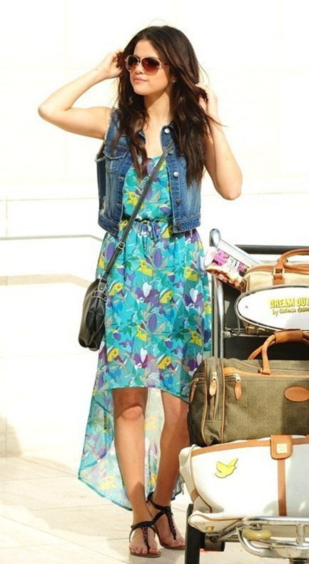 selena gomez casual outfits for dream out loud photoshoot