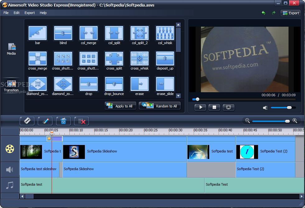 تحميل برنامج صناعة الفيديو بأستخدام الصور Aimersoft Video Studio