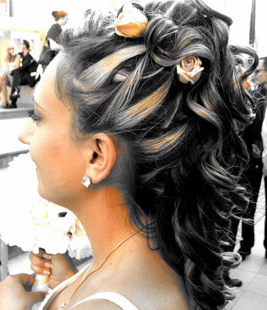 indian hair styles: Different Hair Colours And Styles