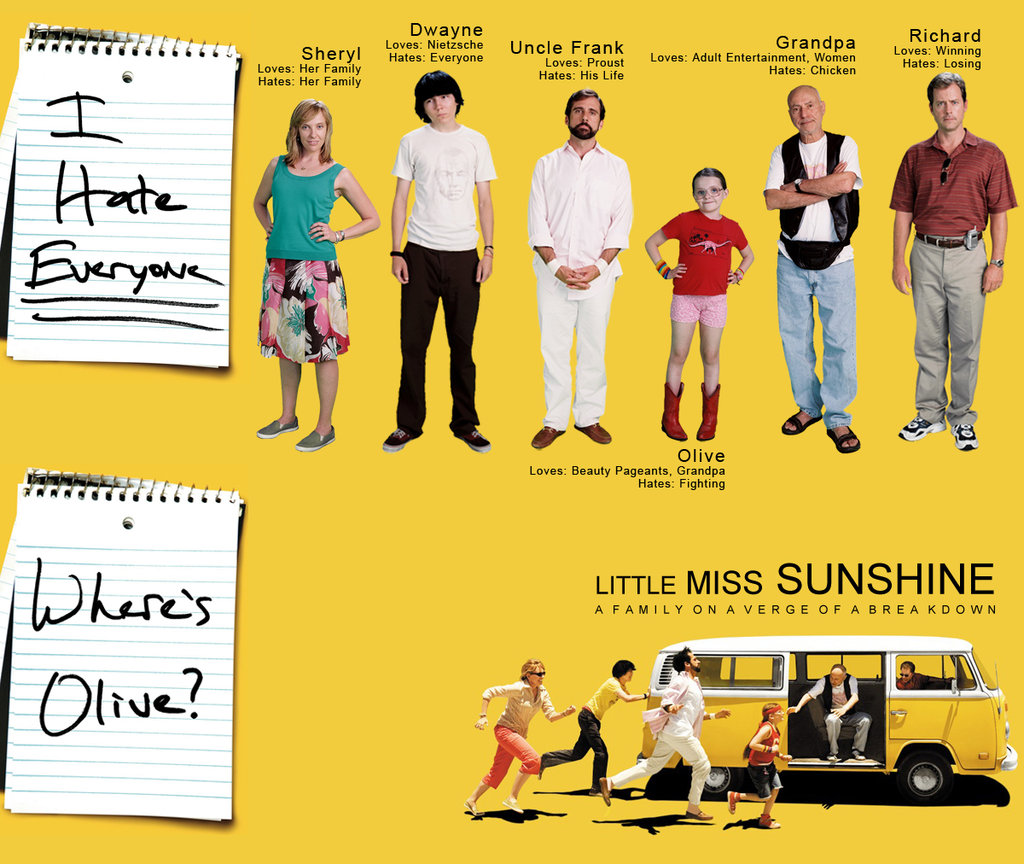 little miss sunshine winners and losers