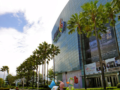 A Sunny Day at Dream Mall Kaohsiung