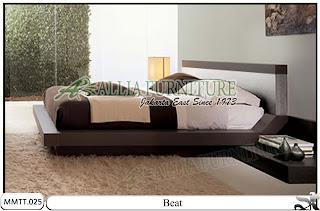 Tempat Tidur Minimalis Type Modern Beat