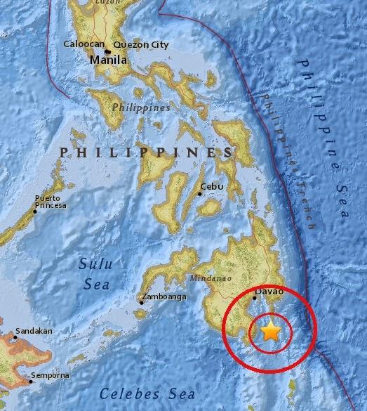 Magnitude 4.6 Earthquake of Pondaguitan, Philippines 2015-04-27