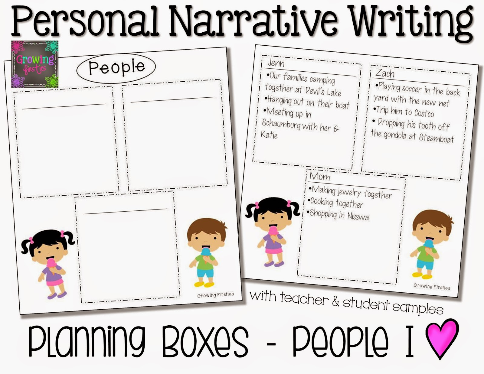 Personal narrative topics?
