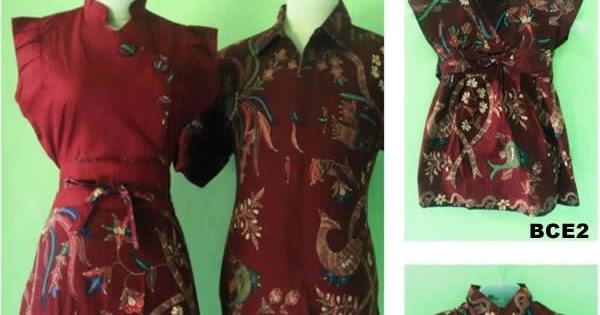Baju Batik Sarimbit Keluarga Modern Terbaru Murah Toko