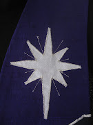 . because it is a 4 pointed star Bethlehem star plus a cross.