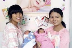 Bayi 'Kembar' Ini Lahir dari Ibu Berbeda