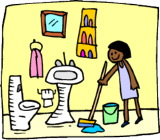 creative life designs: My new cleaning schedule