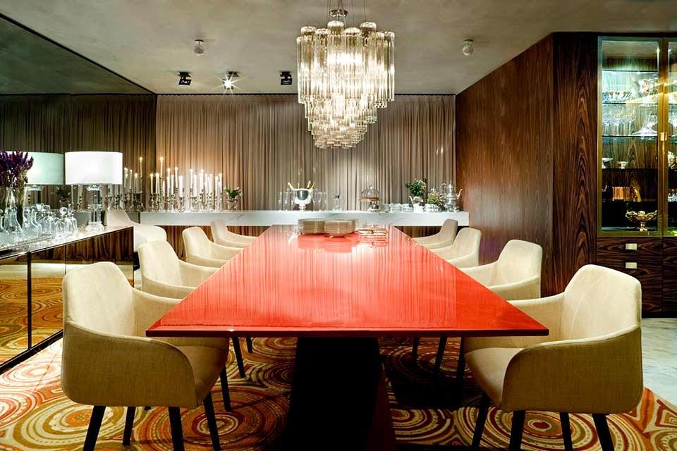 Sala De Jantar Com Tapete De Couro ~ Salas de jantar50 modelos maravilhosos e dicas de como decorar