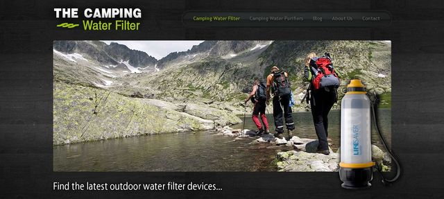 TheCampingWaterFilter.Net - Camping Water Filters & Accessories