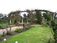 jardin Rosas Rosedal municipal Uruguay