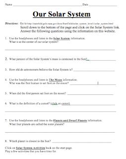 science worksheets 4th grade solar system solar system worksheets 5th grade page 2 pics about. Black Bedroom Furniture Sets. Home Design Ideas