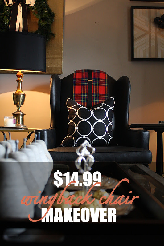 - $14.99 Chair Makeover -