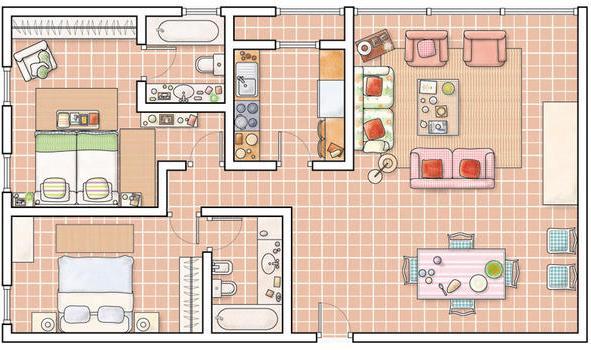 Planos de casas modelos y dise os de casas planos for Planos de casas de campo