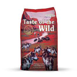 TASTE OF THE WILD.