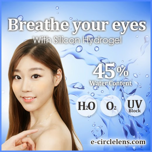 Silicone Hydrogel Contacts at e-circlelens.com