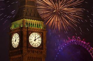 Año Nuevo, Tradiciones, Costumbres y Supersticiones en Inglaterra