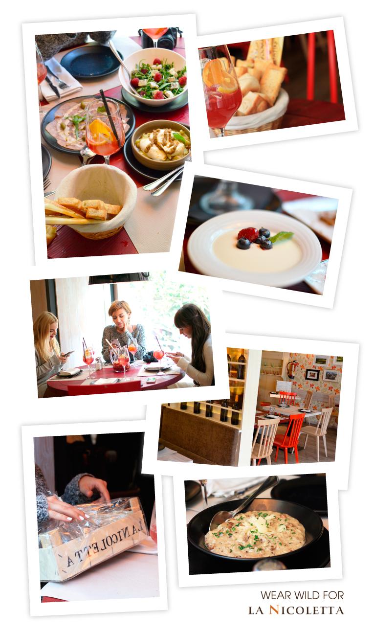 La Nicoletta, restaurante italiano Madrid, brunch, bloggers meal, pasta, pizza, cake