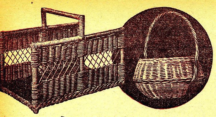 si te gustan los objetos de mimbre o de junco no duces en echarle un vistazo y anmese a hacer un cesto - Como Hacer Cestos De Mimbre