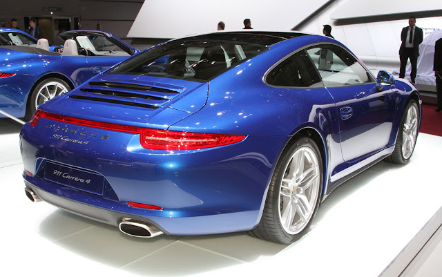 Cars Model 2013 2014  2013 Porsche 911 Carrera 4 and 4S First Look