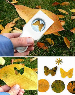 8 κατασκευές για τα παιδιά με τα φύλλα των δέντρων