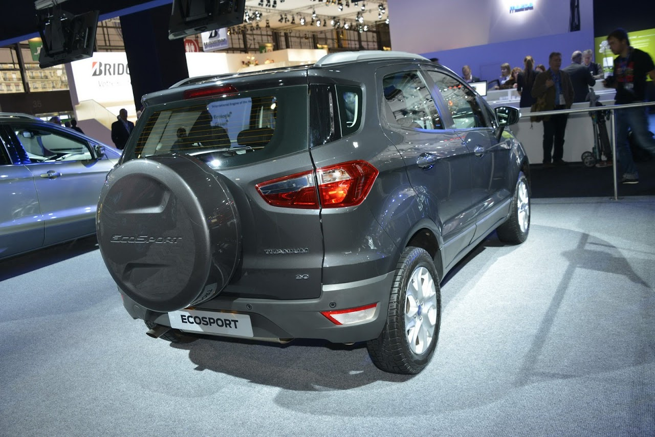 2013 Ford EcoSport Paris'te - Turkeycarblog