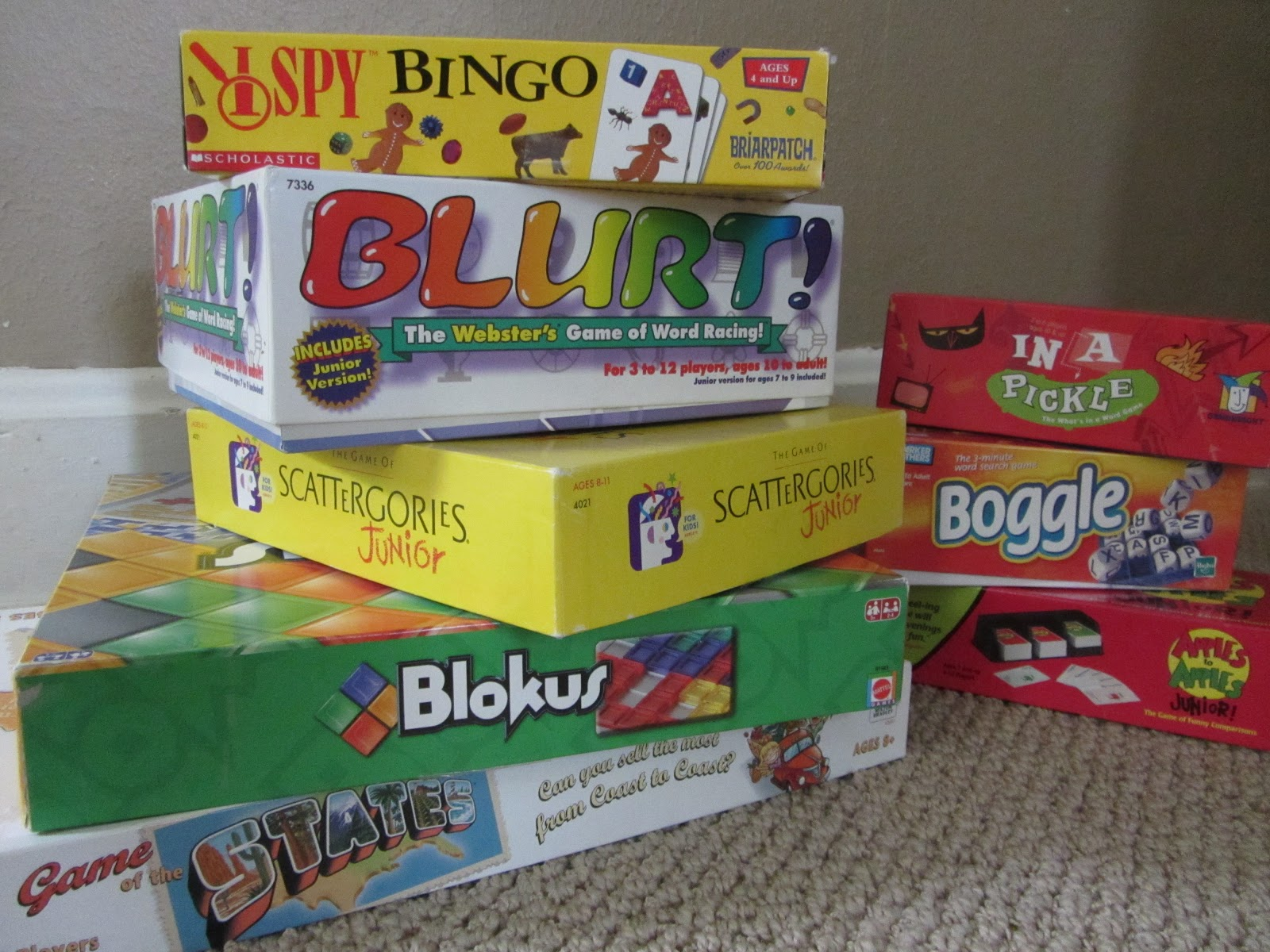 The Unlikely Homeschool: Top 10 Language-Based Board Games for ...