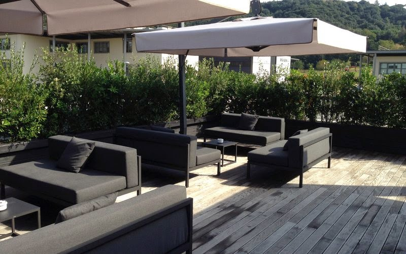 Haverum: en gucci tagterrasse