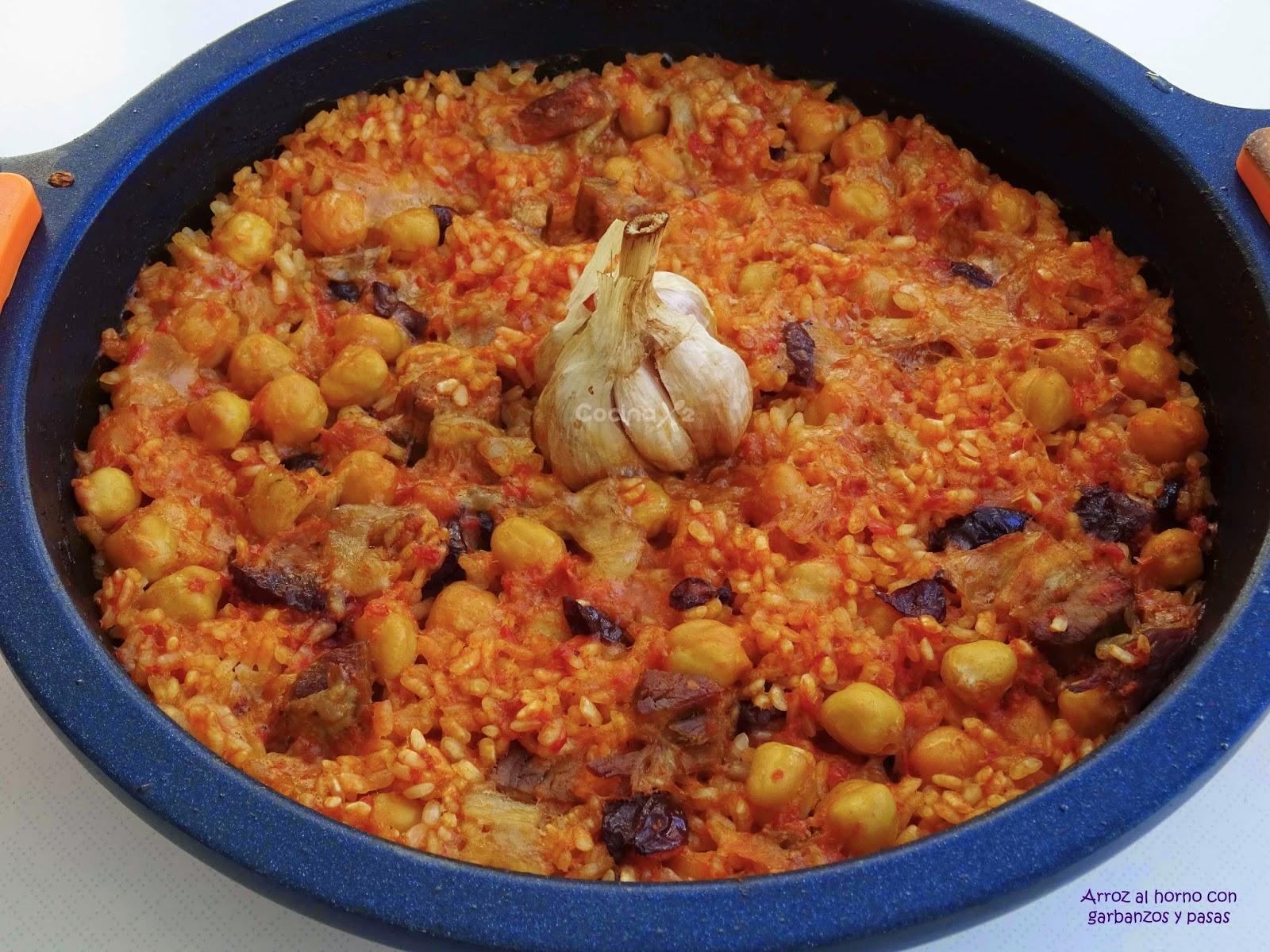 Cocinax2 las recetas de laurita arroz al horno con for Cocinar 2 tazas de arroz