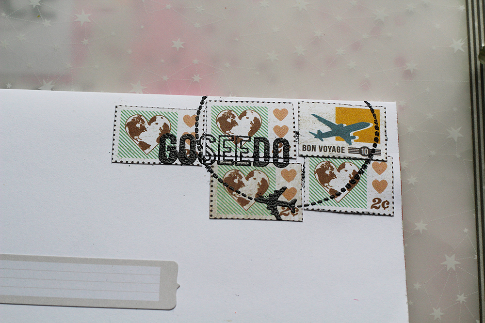 Things that shine cocoa daisy 80 days reveal What side of envelope does stamp go on