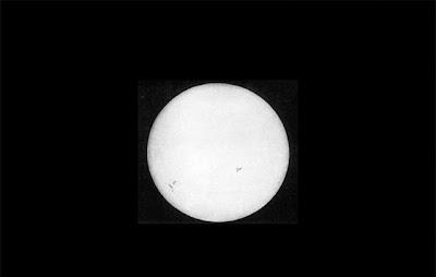 İlk Güneş Fotoğrafı