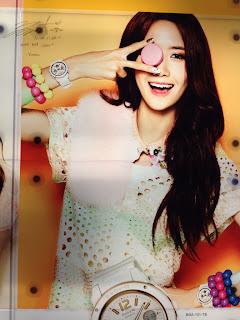 SNSD Yoona Casio Baby G Singapore
