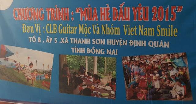 Hội từ thiện Vietnamsmile - mùa hè dấu yêu