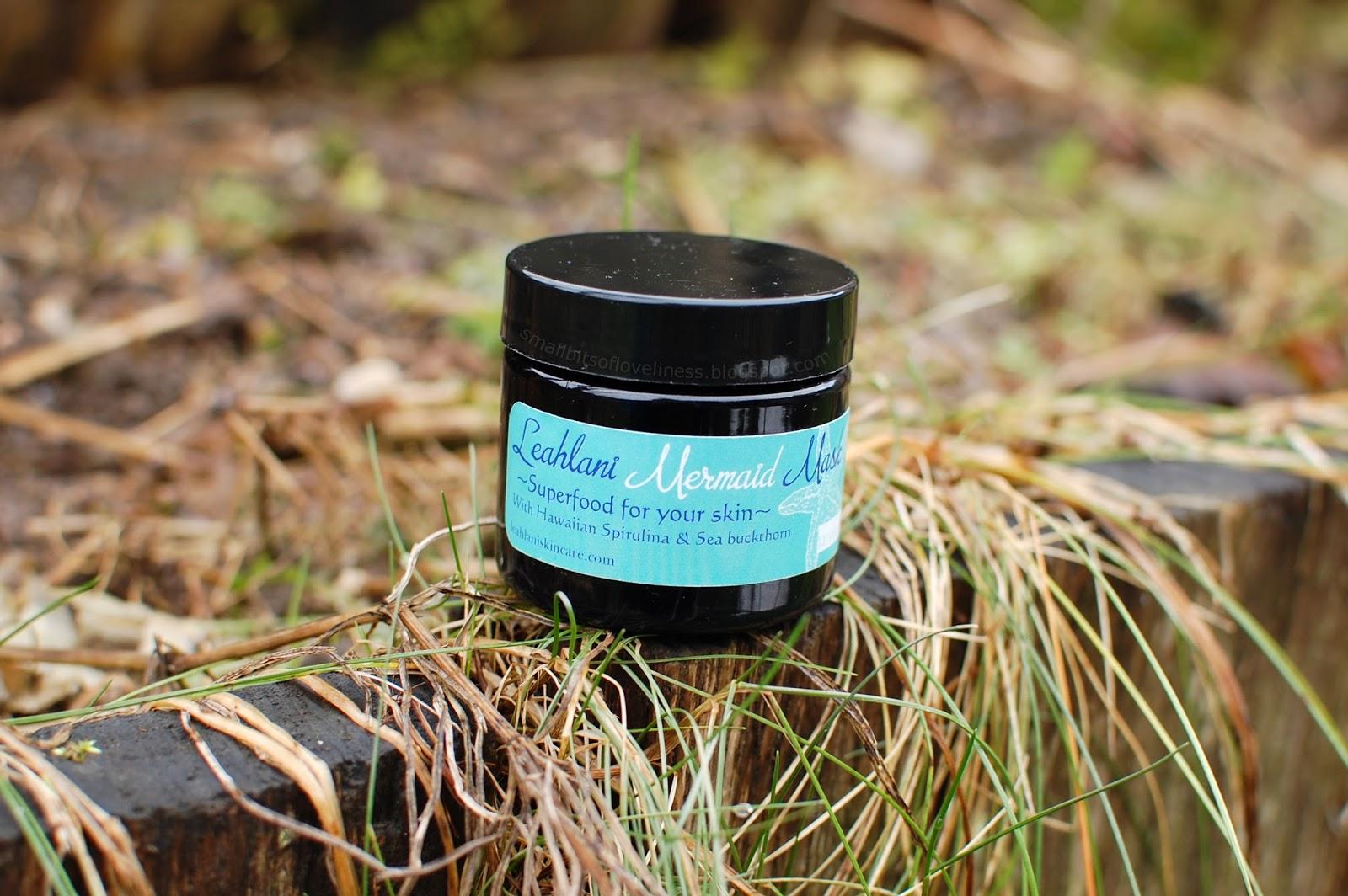 Leahlani Skincare Mermaid Mask Superfood for your skin