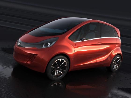 Tata motors unveils the megapixel latest news 4 india for Tata motors future cars