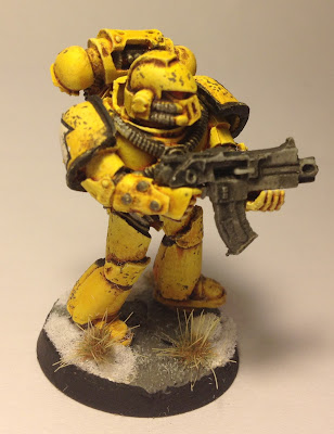 Pre-Heresy Imperial Fists Tactical Marine