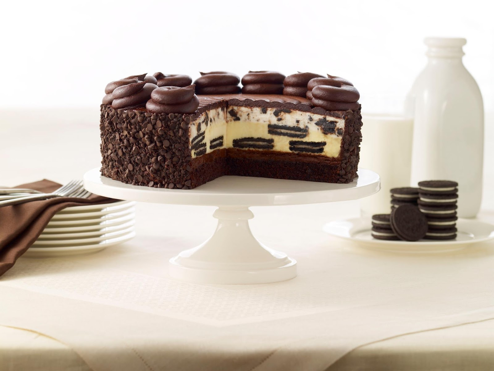 ... cheesecake today, the OREO® Dream Extreme Cheesecake, in honor of the