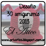 Reto 30 amigurumis este año de El Atico